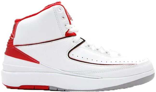 Jordan 2 Retro White Red CDP (2008)