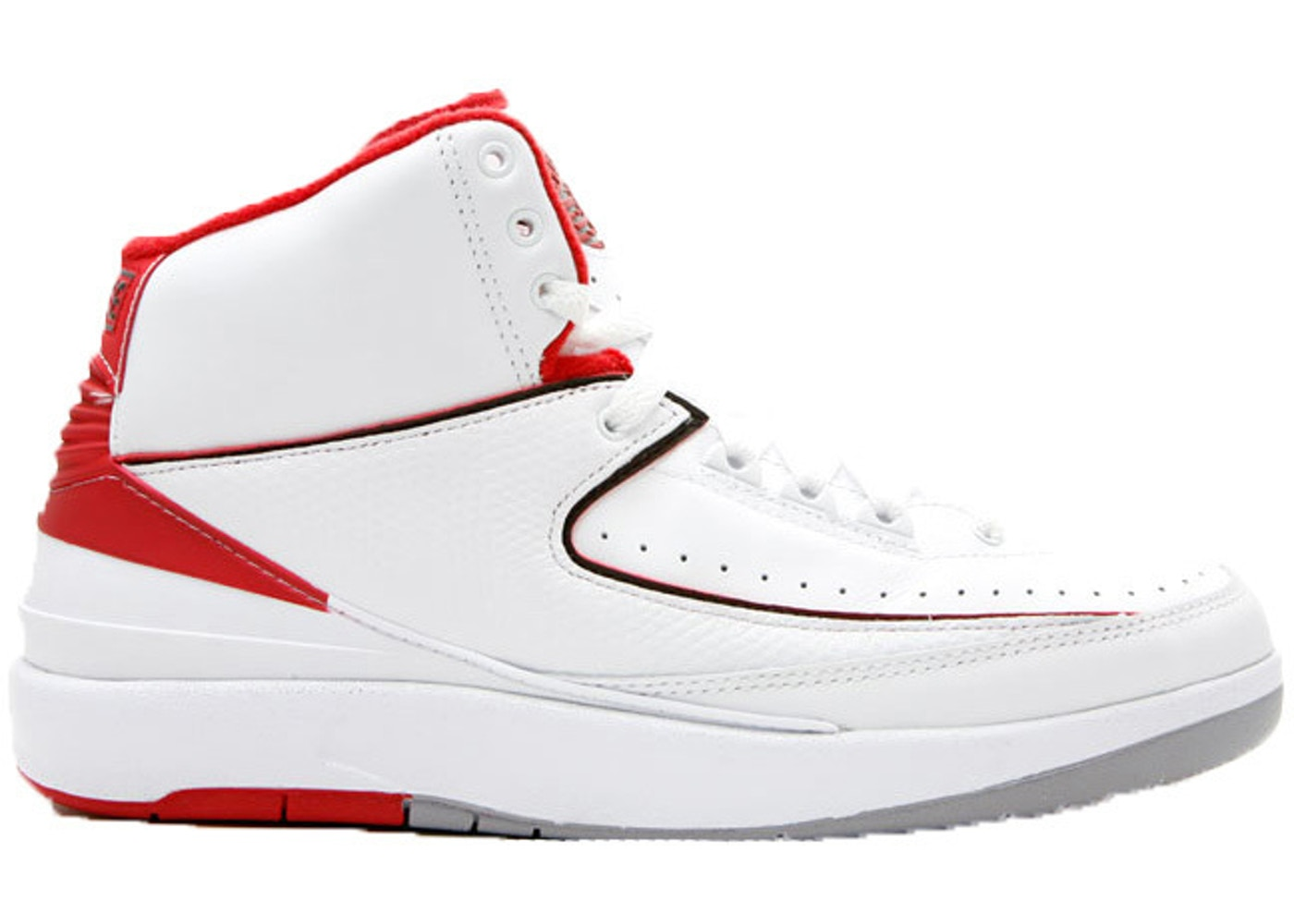 39d0925f006 Jordan 2 Retro White Red CDP (2008) - 308308-162