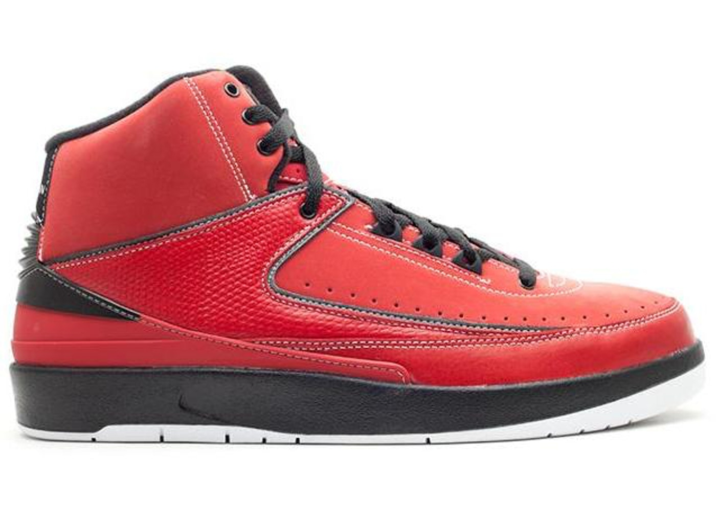 new style 7757a 64382 Jordan 2 Retro QF Candy Pack Red - 395709-601