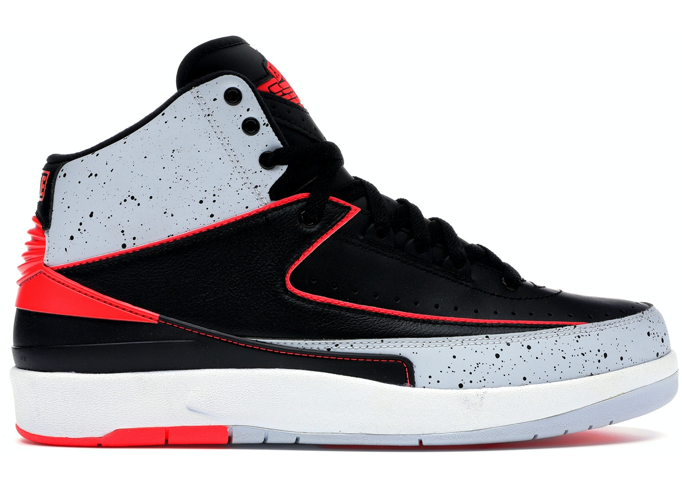 the latest 00ee3 384b9 Jordan 2 Retro Infrared Cement - 385475-023