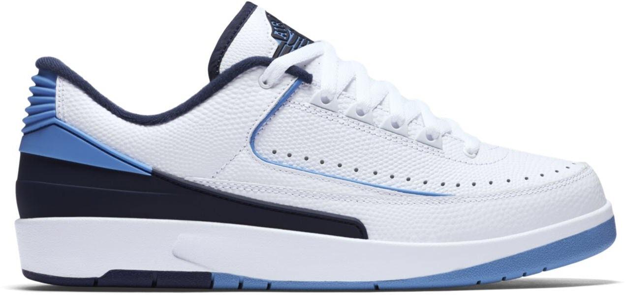 Jordan 2 Retro Low University Blue (2016)