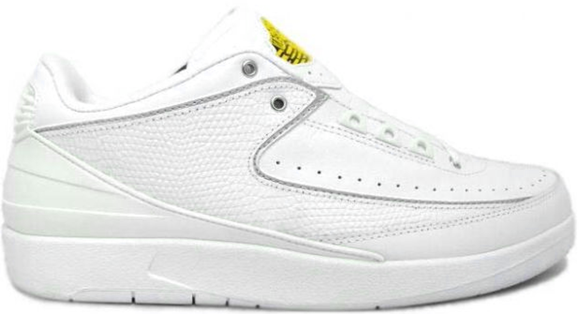 Jordan 2 Retro Low White Varsity Maize