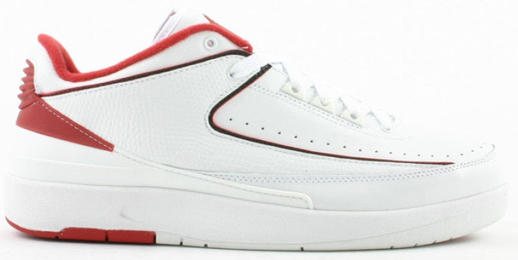 Jordan 2 Retro Low White Varsity Red