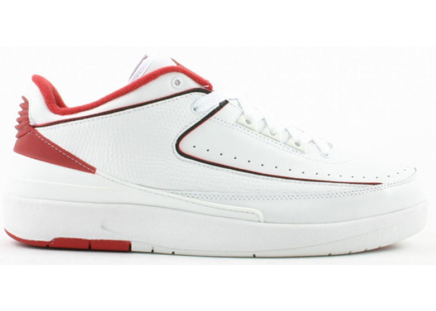official photos b9fb5 dc5b9 Jordan 2 Retro Low White Varsity Red