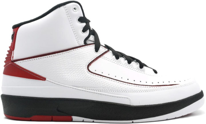 Jordan 2 Retro QF White Varsity Red (2010)