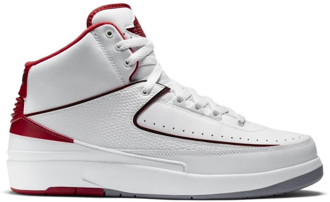 Jordan 2 Retro White Red (2014)