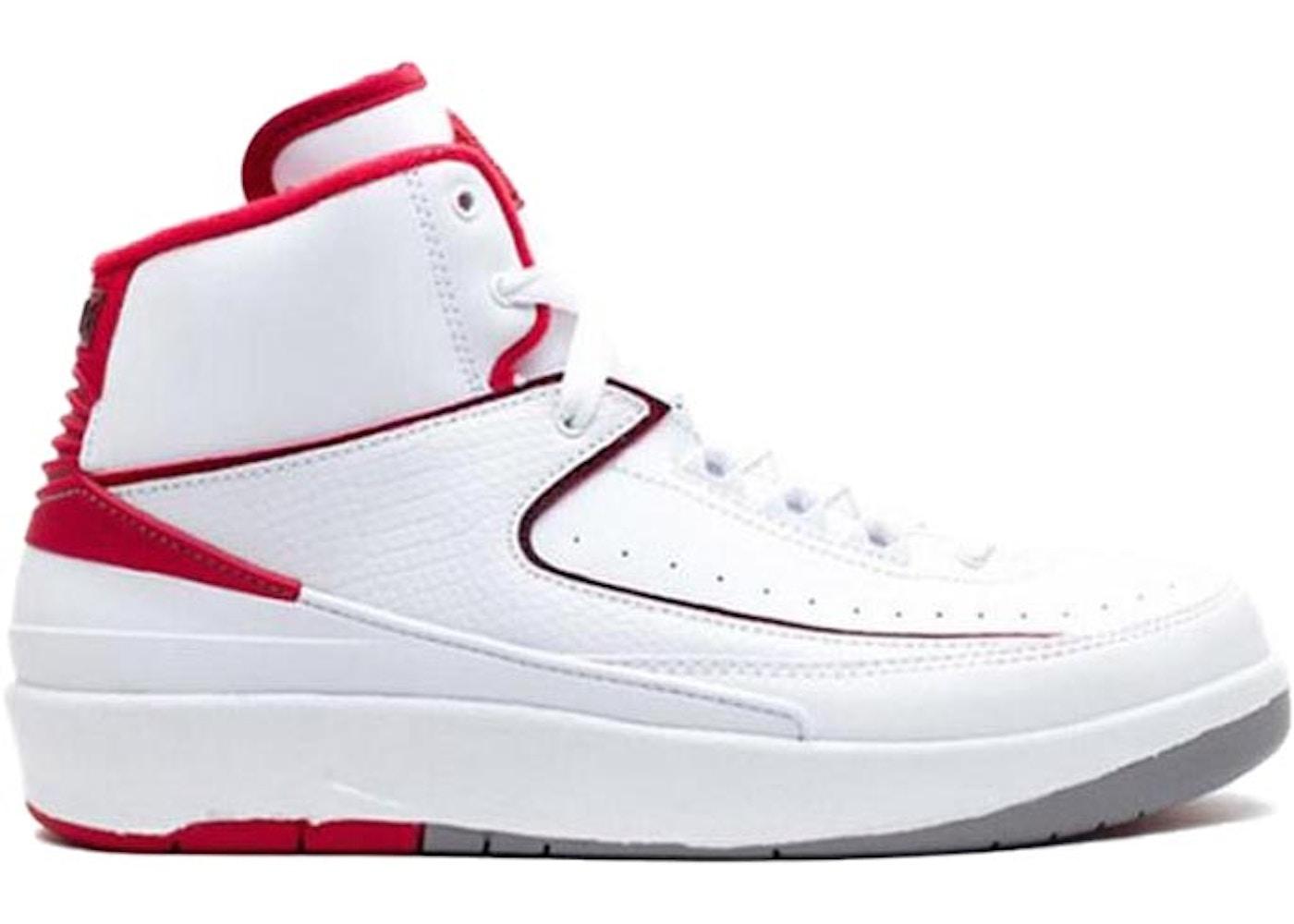 423d71d4d0a Jordan 2 Retro White Red 2014 (GS) - 395718-102