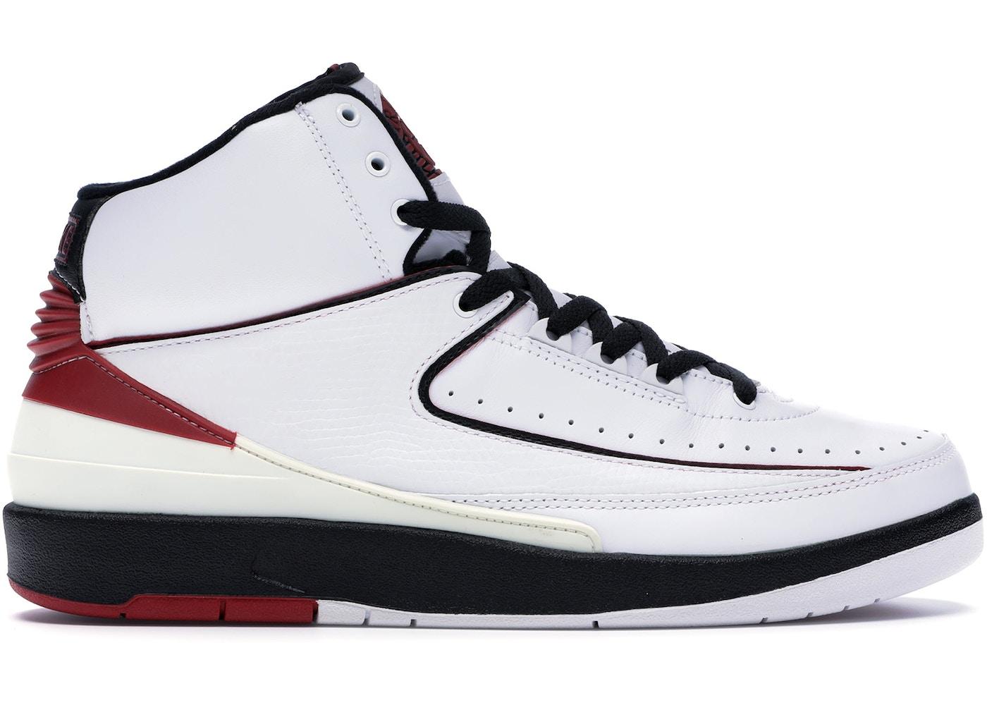 check out 08263 f53dc Jordan 2 Retro White Varsity Red (2004) - 308308-161