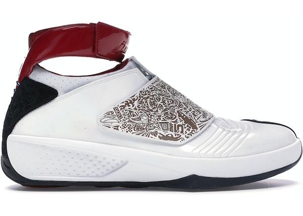 new products 51ba6 4b013 Jordan 20 OG White Laser