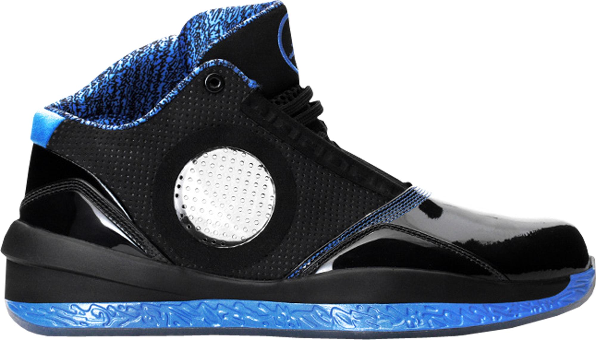 Jordan 2010 Black Uni Blue - 387358-003