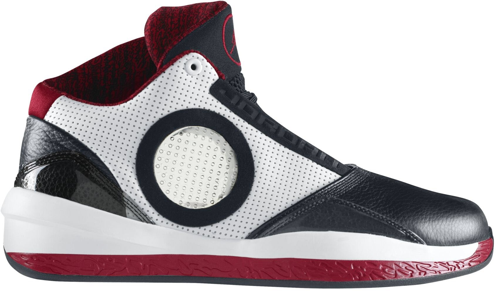 Jordan 2010 Black Varsity Red