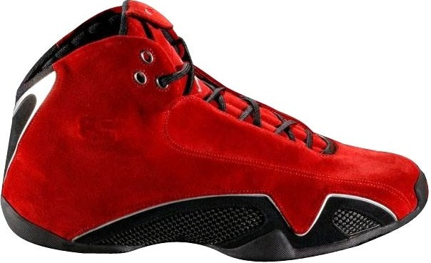 668befa5ca28a4 air jordan xxi red suede prototype