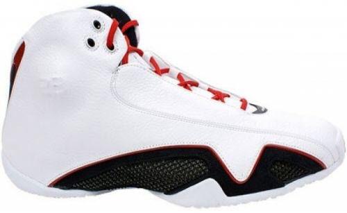 Jordan 21 White Varsity Red Metallic Silver (2006)