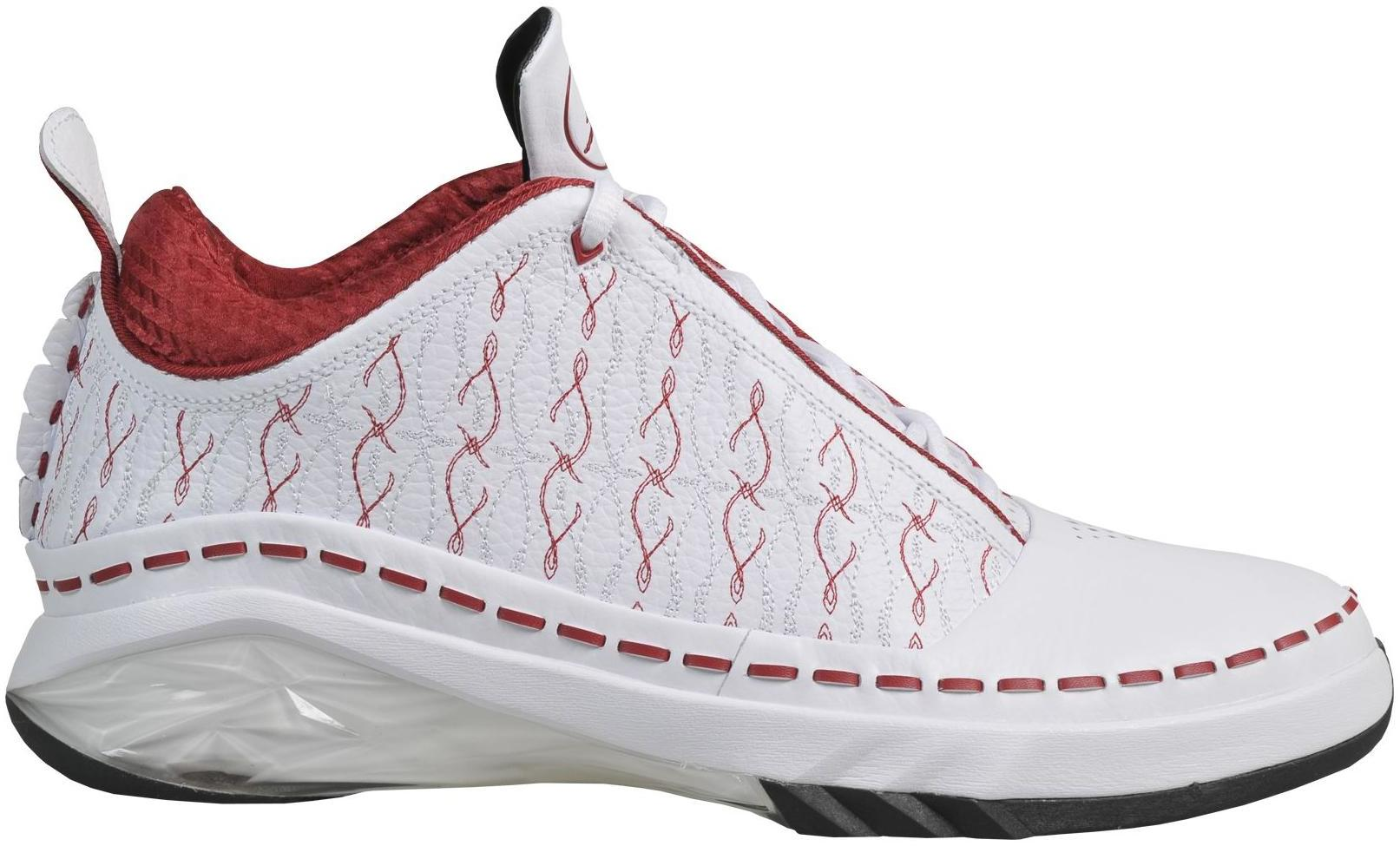 Air Jordan 23 Faible Fac Blanc Jordan Rouge