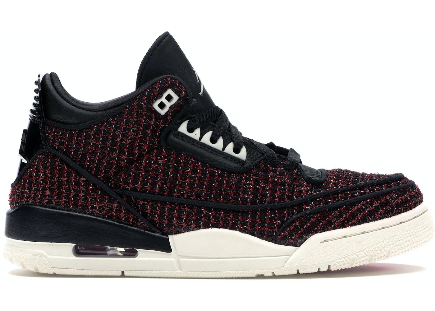 4a3fdf2761b196 Jordan 3 Retro AWOK Vogue University Red (W) - BQ3195-601