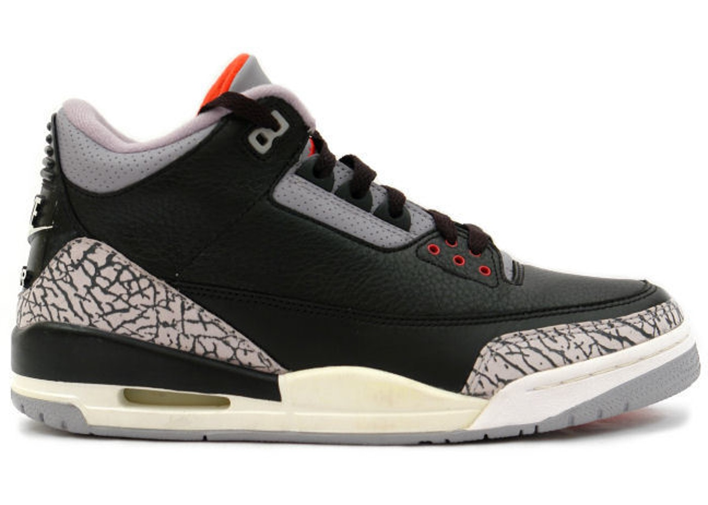 timeless design 42d05 837c1 Jordan 3 Retro Black Cement (1994)