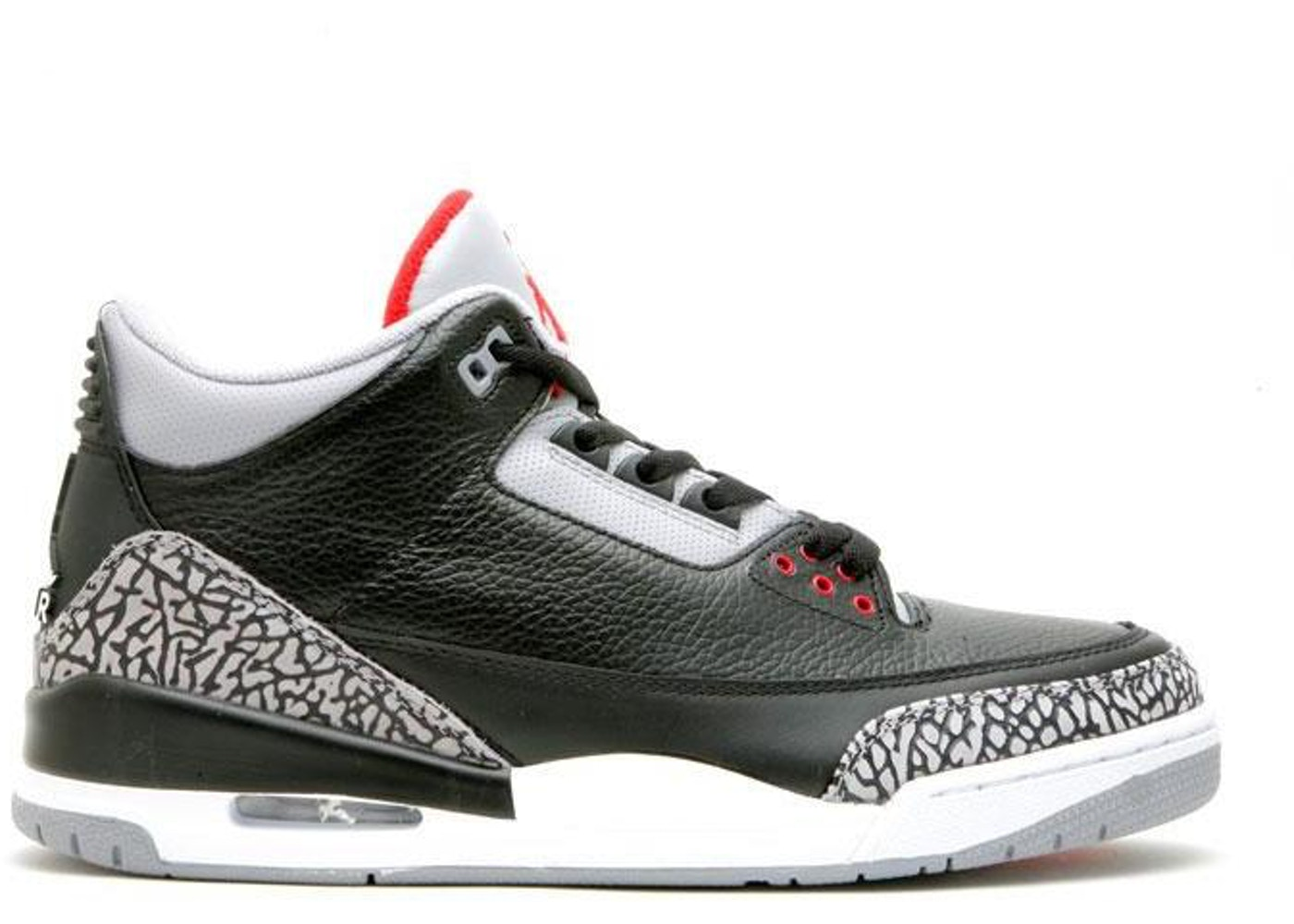 sports shoes 421de 254ee Jordan 3 Retro Black Cement CDP (2008)