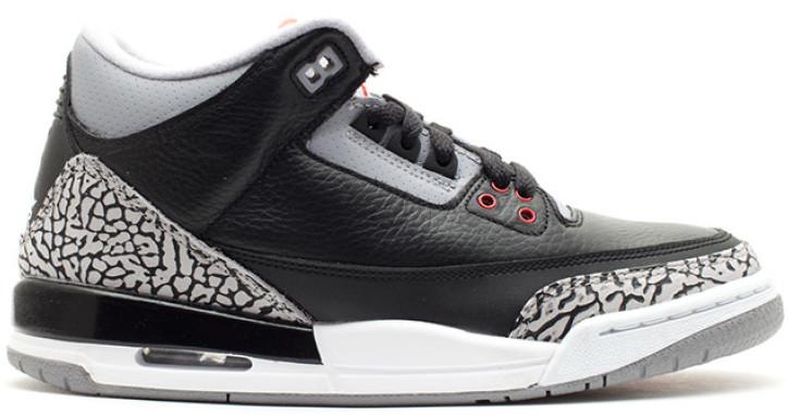Jordan 3 Retro Black Cement 2011 (GS