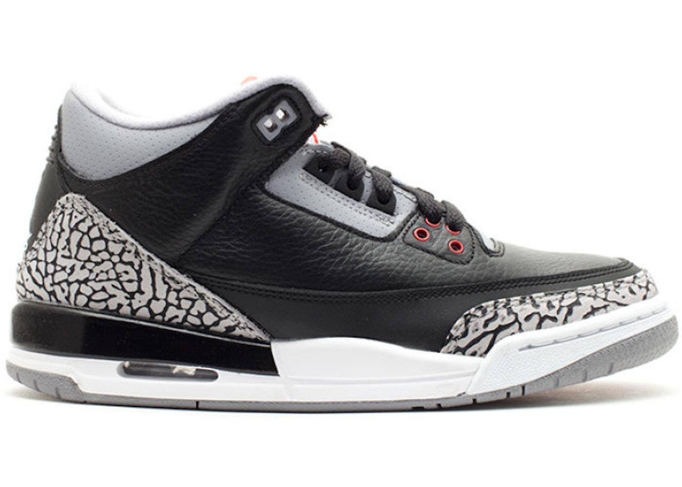 buy online d12c5 67a66 Jordan 3 Retro Black Cement 2011 (GS)