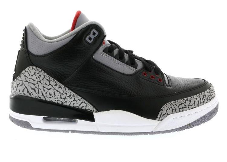 Jordan 3 Retro Black Cement (2011