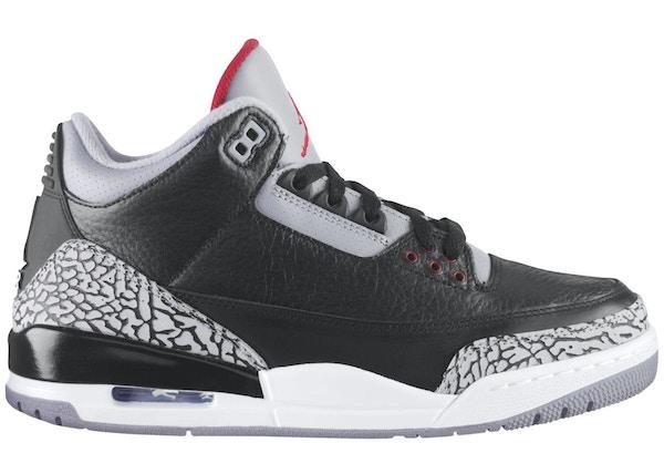 separation shoes c2cea fdc8a Jordan 3 Retro Black Cement (2011) - 136064-010