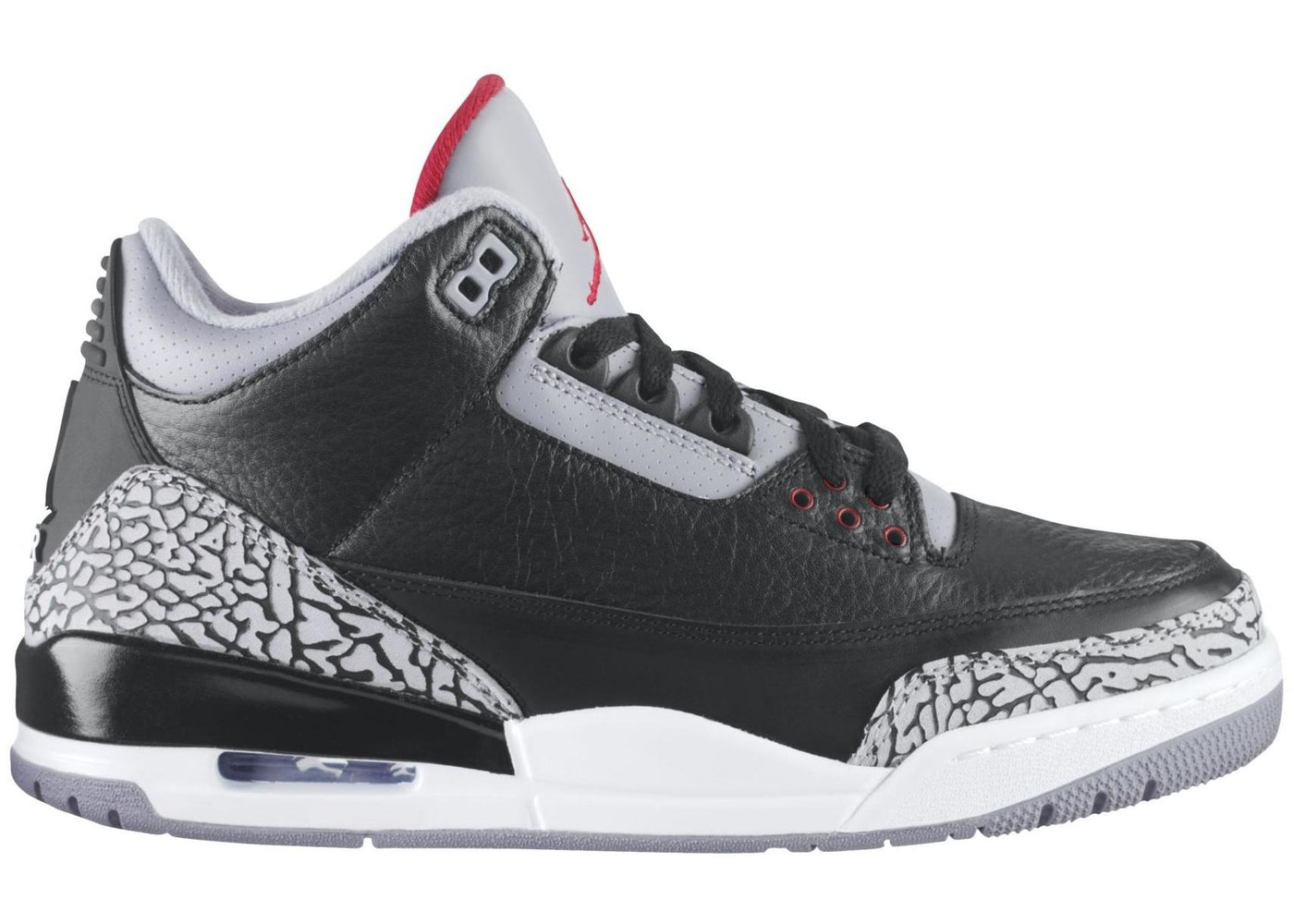 separation shoes a2f7e 2d359 Jordan 3 Retro Black Cement (2011) - 136064-010