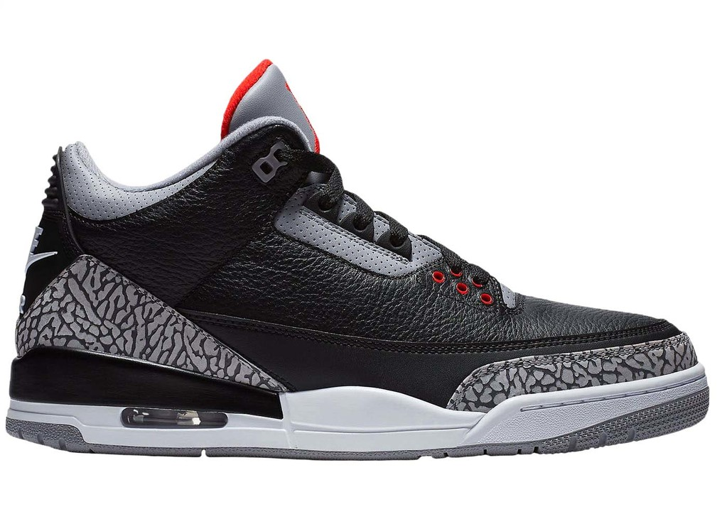 Jordan 3 Retro Black Cement (2018)