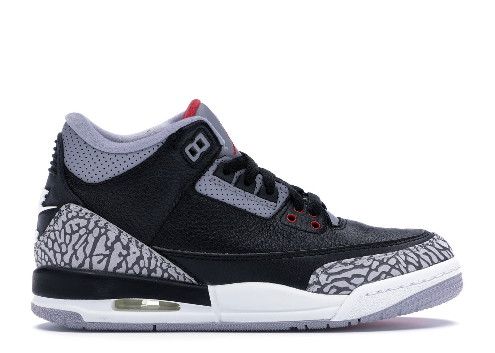 Air Jordan 3 Retro Og Gs Black Cement 2018