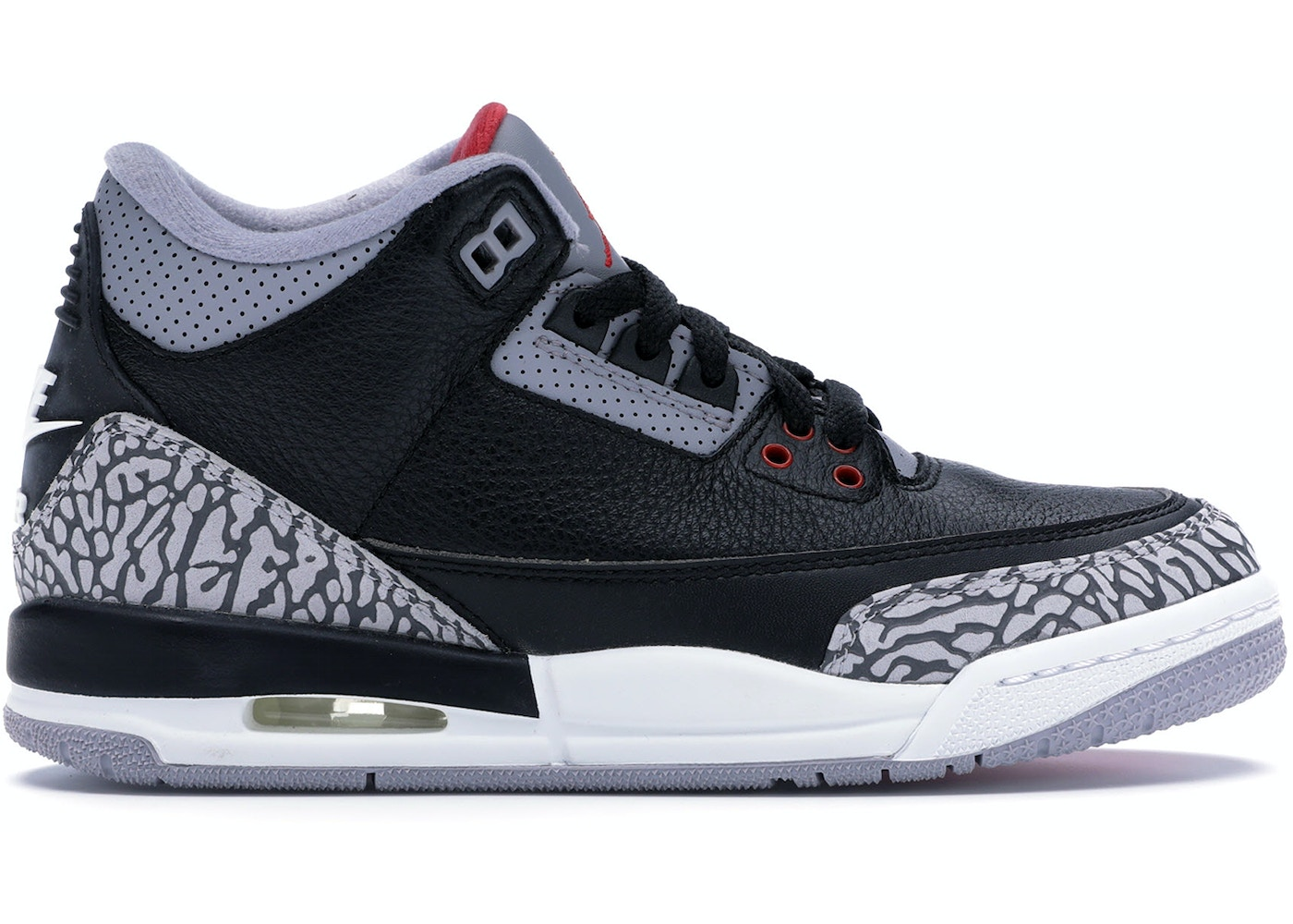 ee6689ed39787f Jordan 3 Retro Black Cement 2018 (GS) - 854261-001
