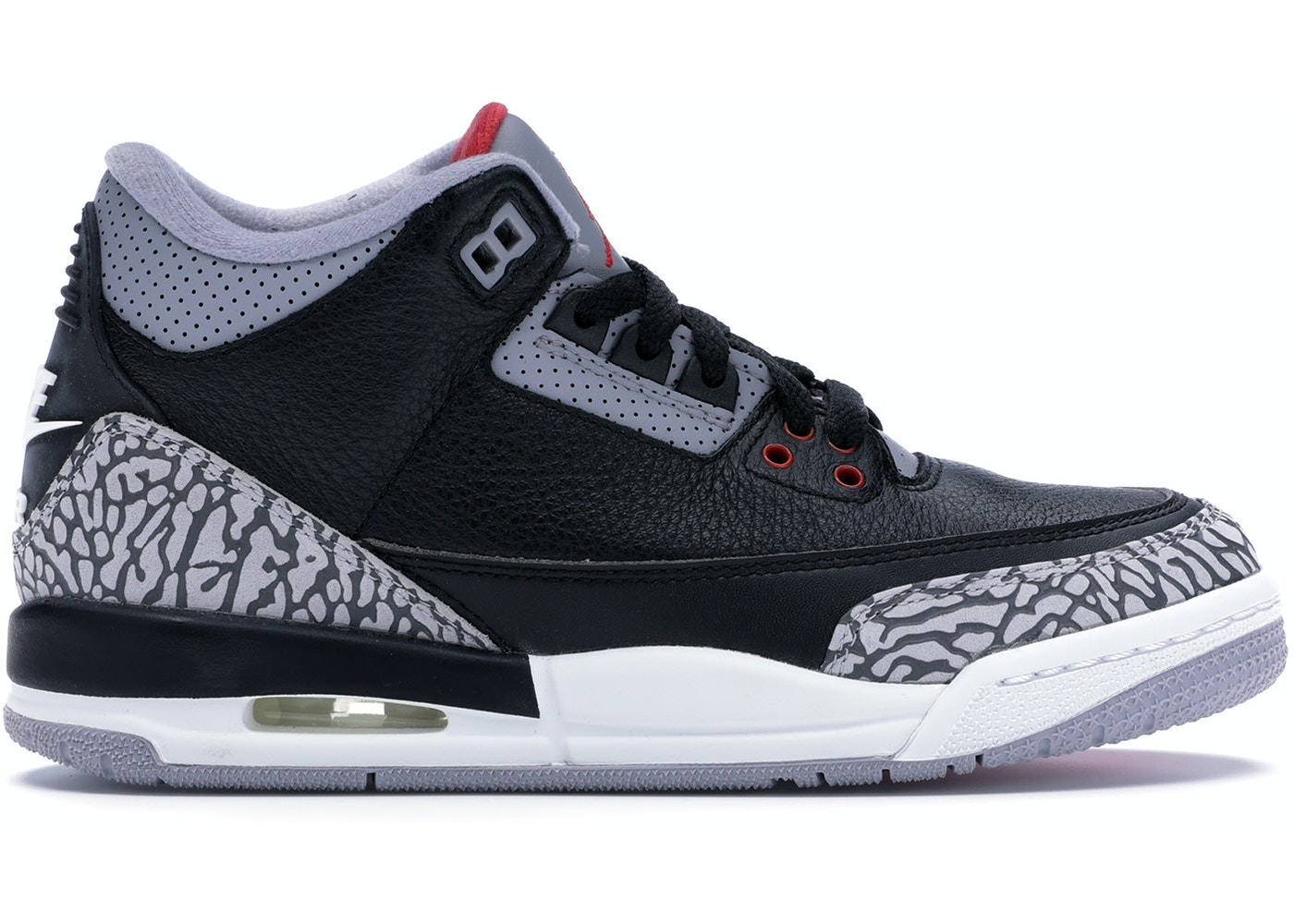 huge discount 3d9ba fcb3a Jordan 3 Retro Black Cement 2018 (GS)