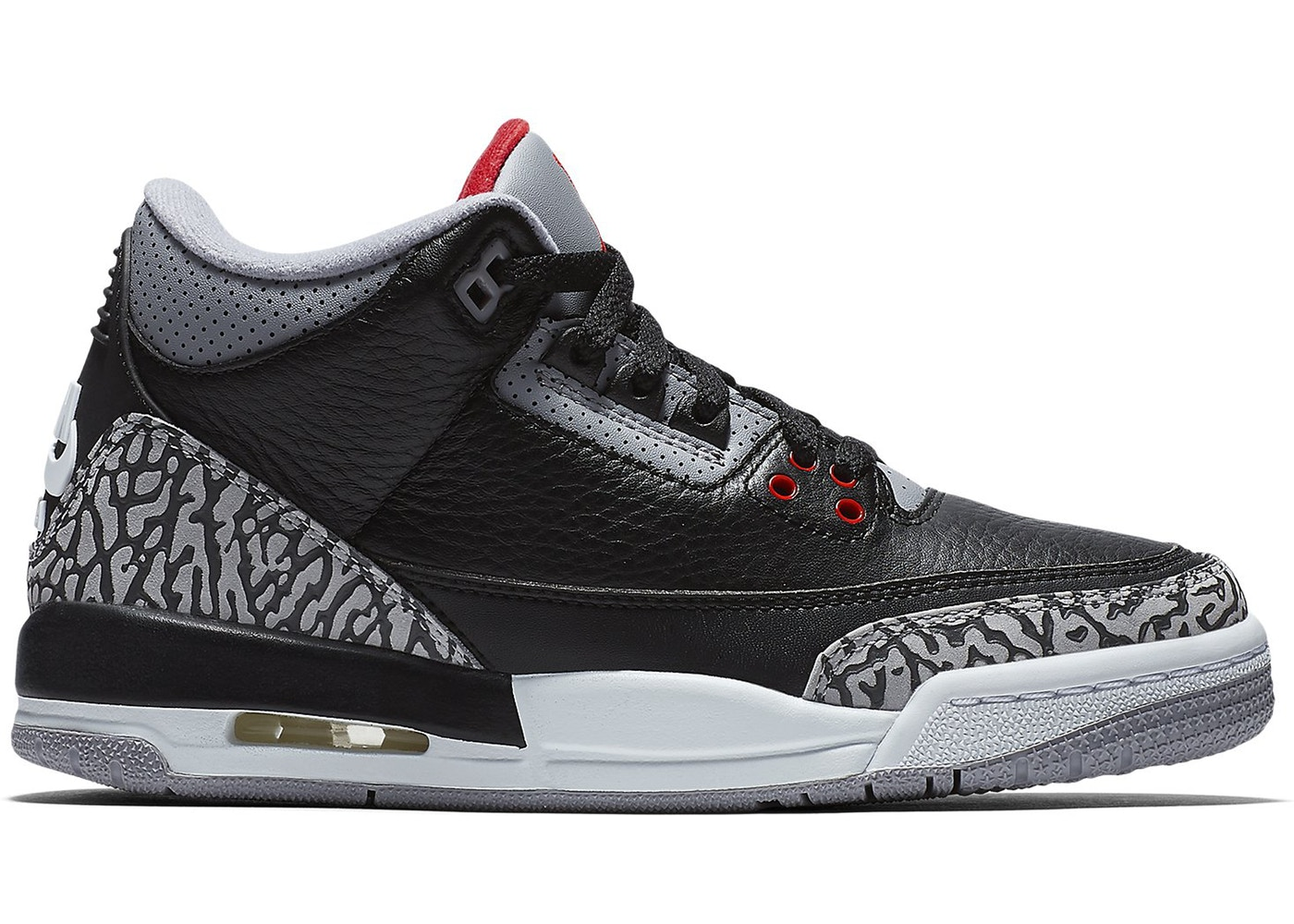 Jordan 3 Retro Black Cement 2018 (GS)