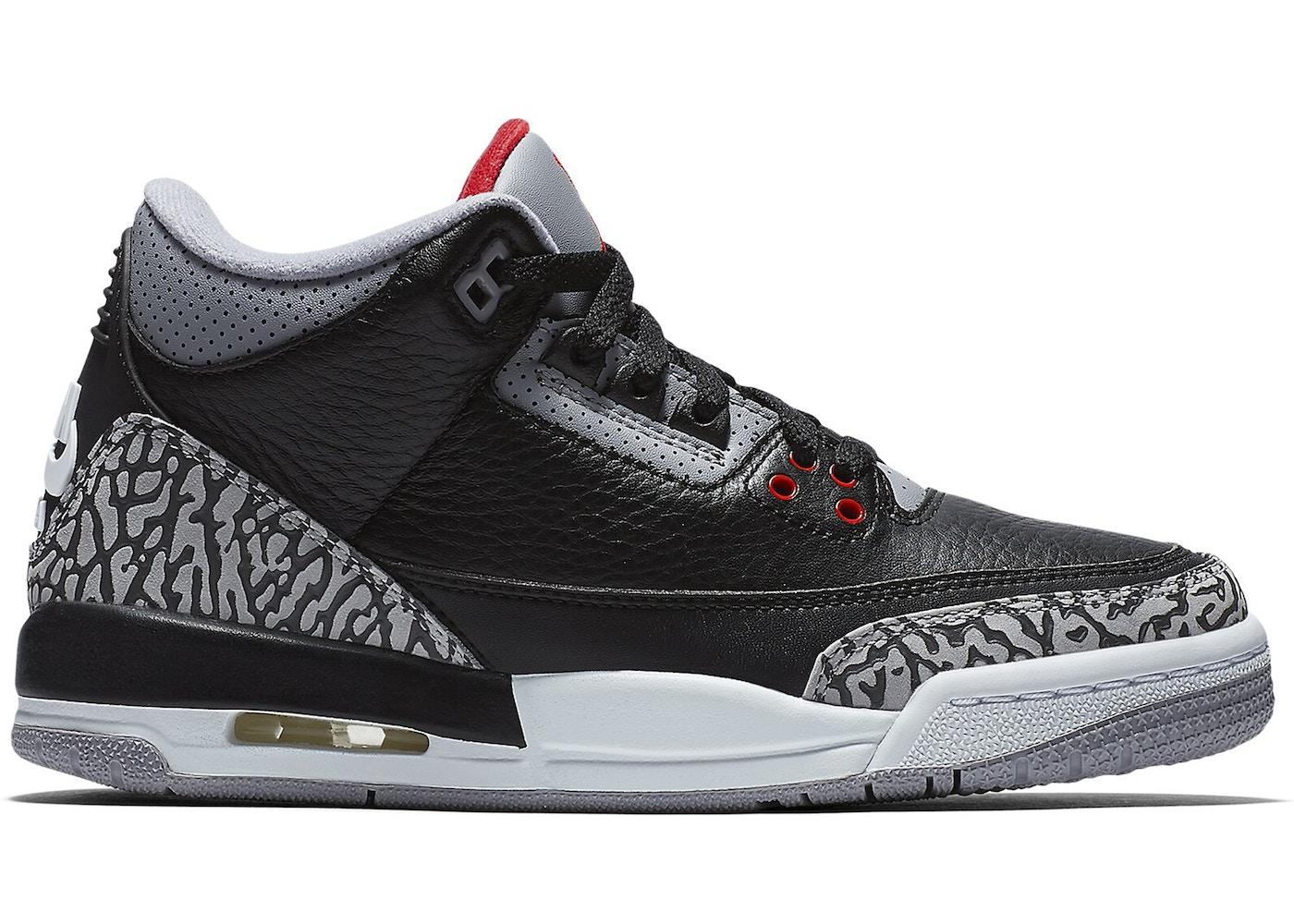 Air Jordan 3 negro
