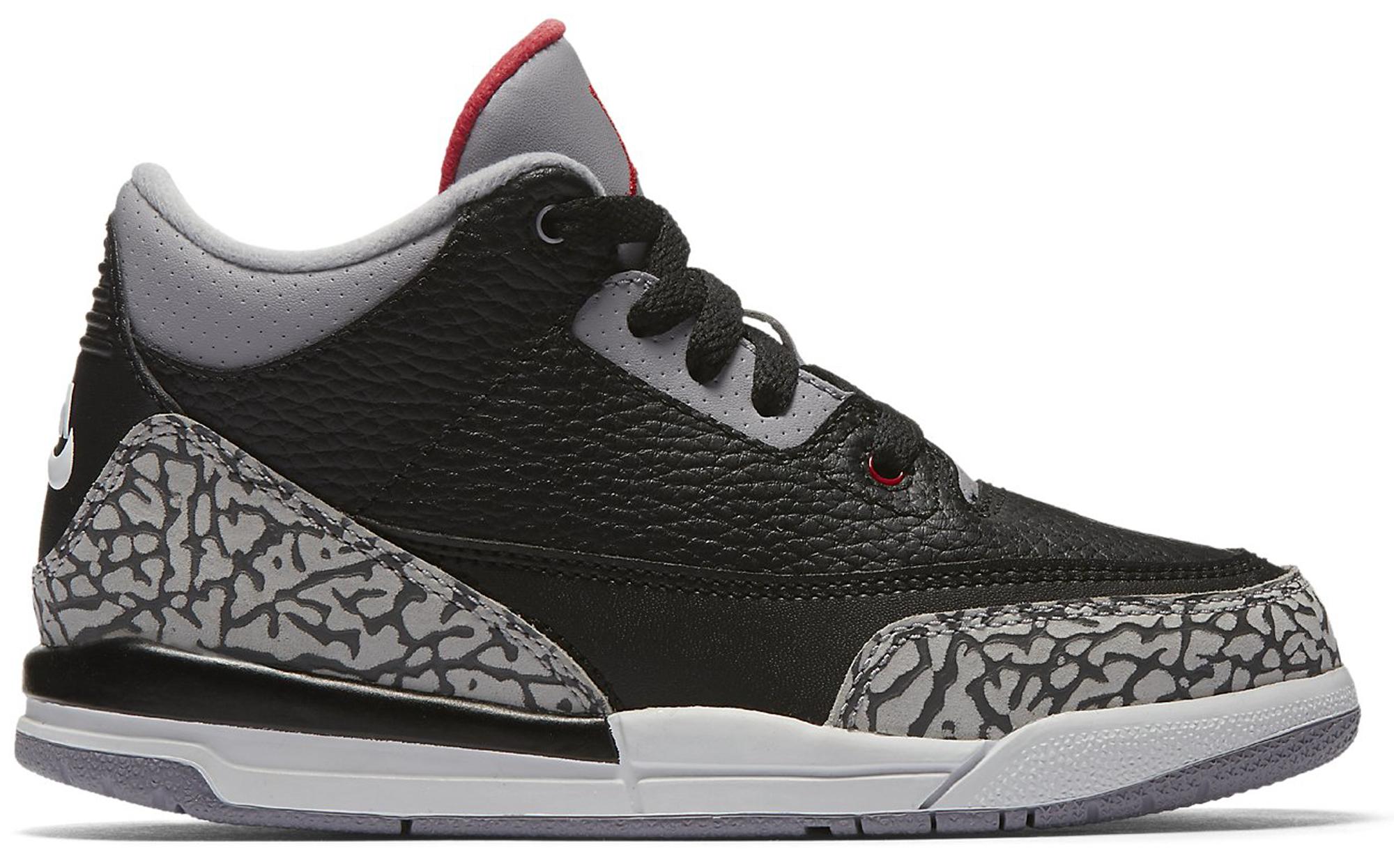 Jordan 3 Retro Black Cement 2018 (PS)
