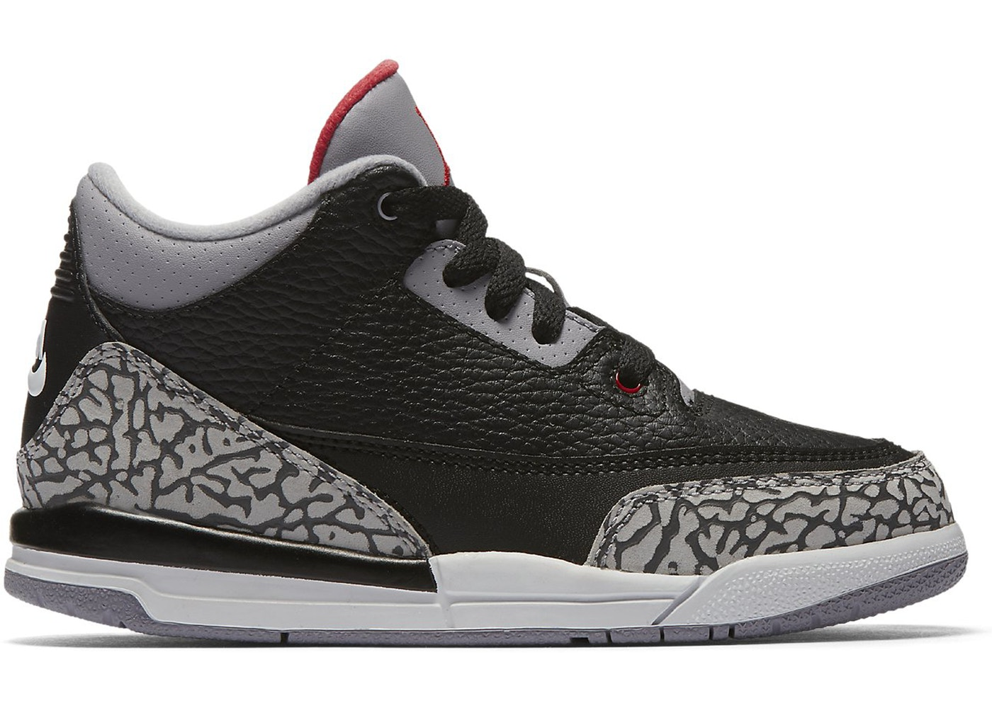 huge discount b6b3a 38e47 Jordan 3 Retro Black Cement 2018 (PS)