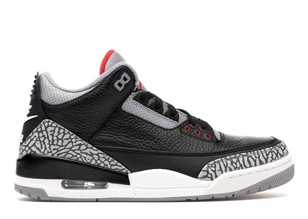 Jordan 3 Retro Black Cement (2018)