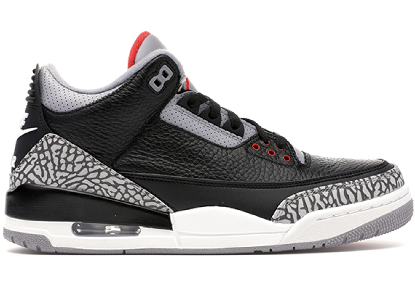 e18570dac6b Jordan 3 Retro Black Cement (2018) - 854262-001