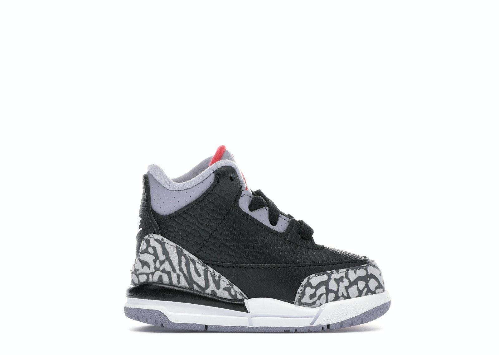 Jordan 3 Retro Black Cement 2018 (TD)