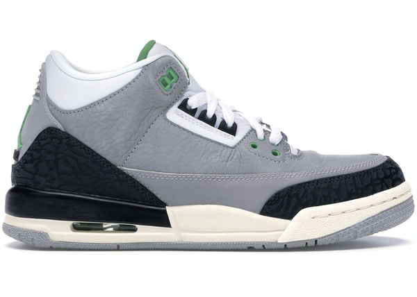 hot sale online 5db5c a1ed2 Jordan 3 Retro Chlorophyll (GS)