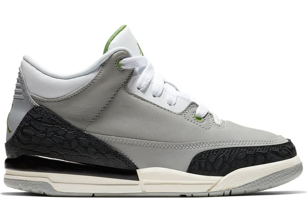 sports shoes b415a f203b Jordan 3 Retro Chlorophyll (PS)