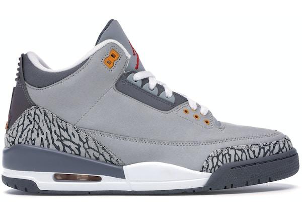 sale retailer 56151 1bc80 Jordan 3 Retro Cool Grey - 315297-062