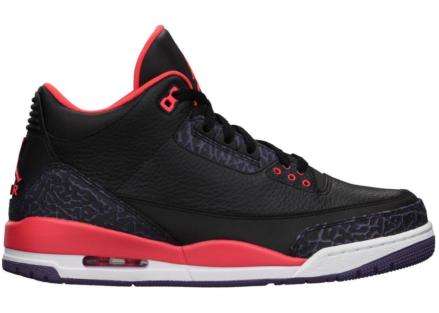 new styles 03c11 25455 Jordan 3 Retro Crimson