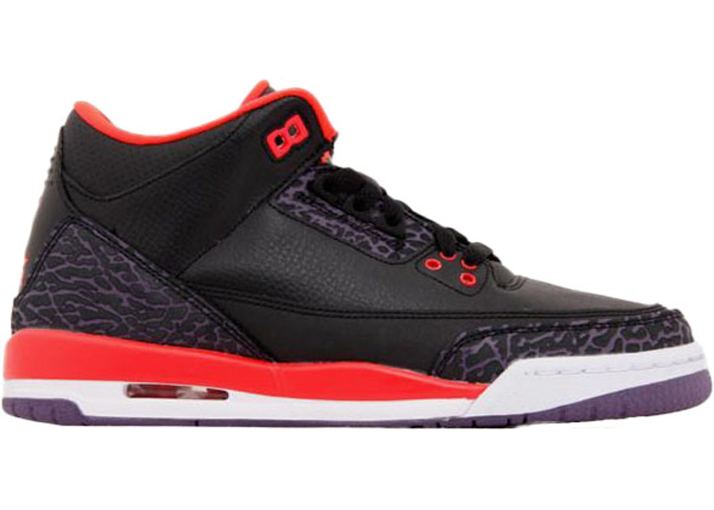 half off 05f38 8b41a Jordan 3 Retro Crimson (GS)