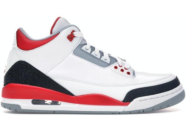 94bbac1efde8 Jordan 3 Retro Fire Red (2013) - 136064-120