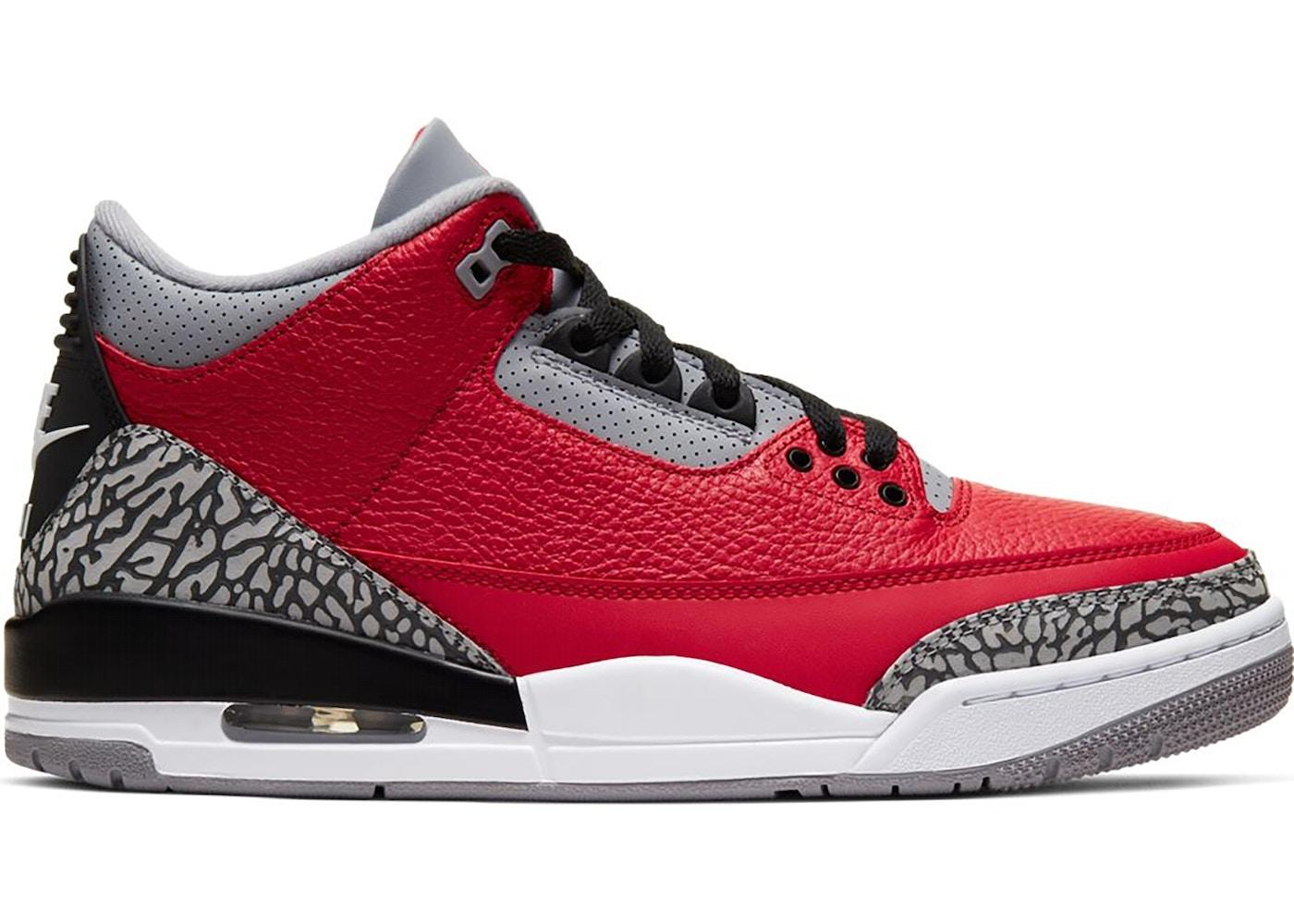 Air Jordan 3 SE Red Cement NIKE CHI •