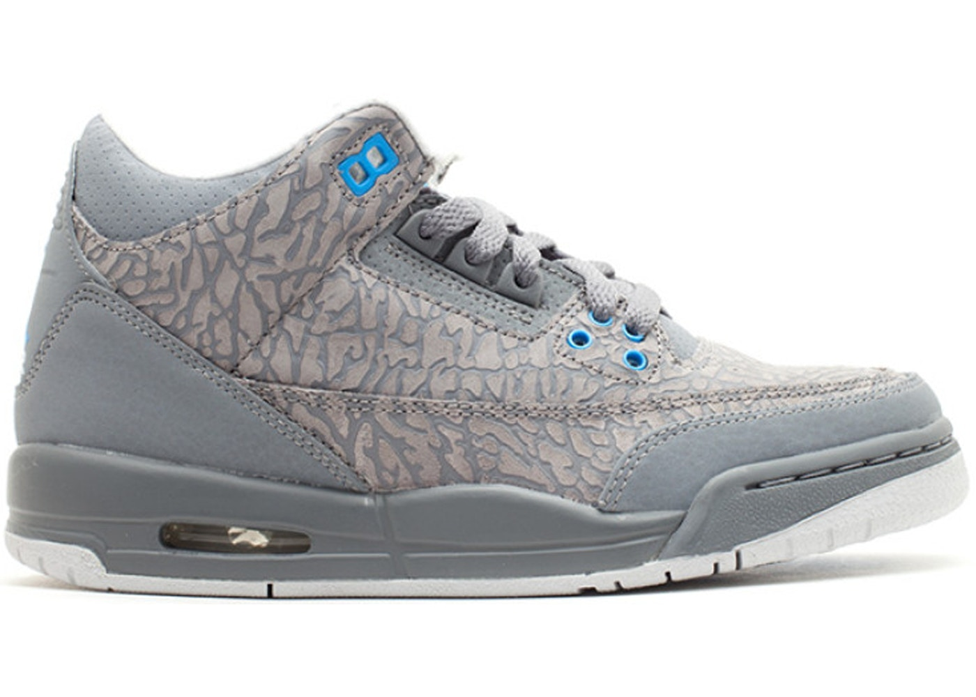 size 40 484ad 4a509 Sell. or Ask. Size  7Y. View All Bids. Jordan 3 Retro Flip Cool Grey Blue  ...