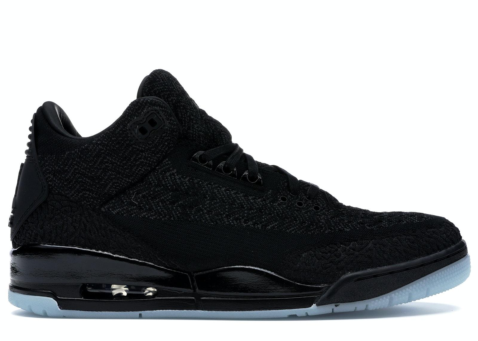 jordan 3 all black