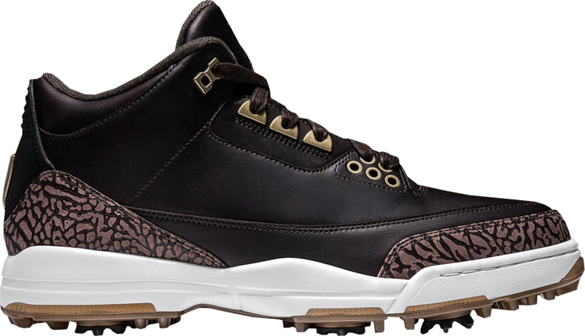 Jordan 3 Retro Golf Brown