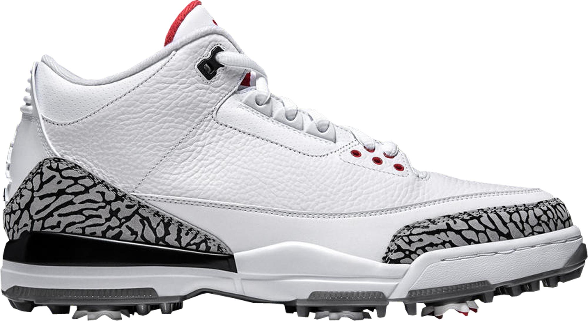 Jordan 3 Retro Golf White Cement