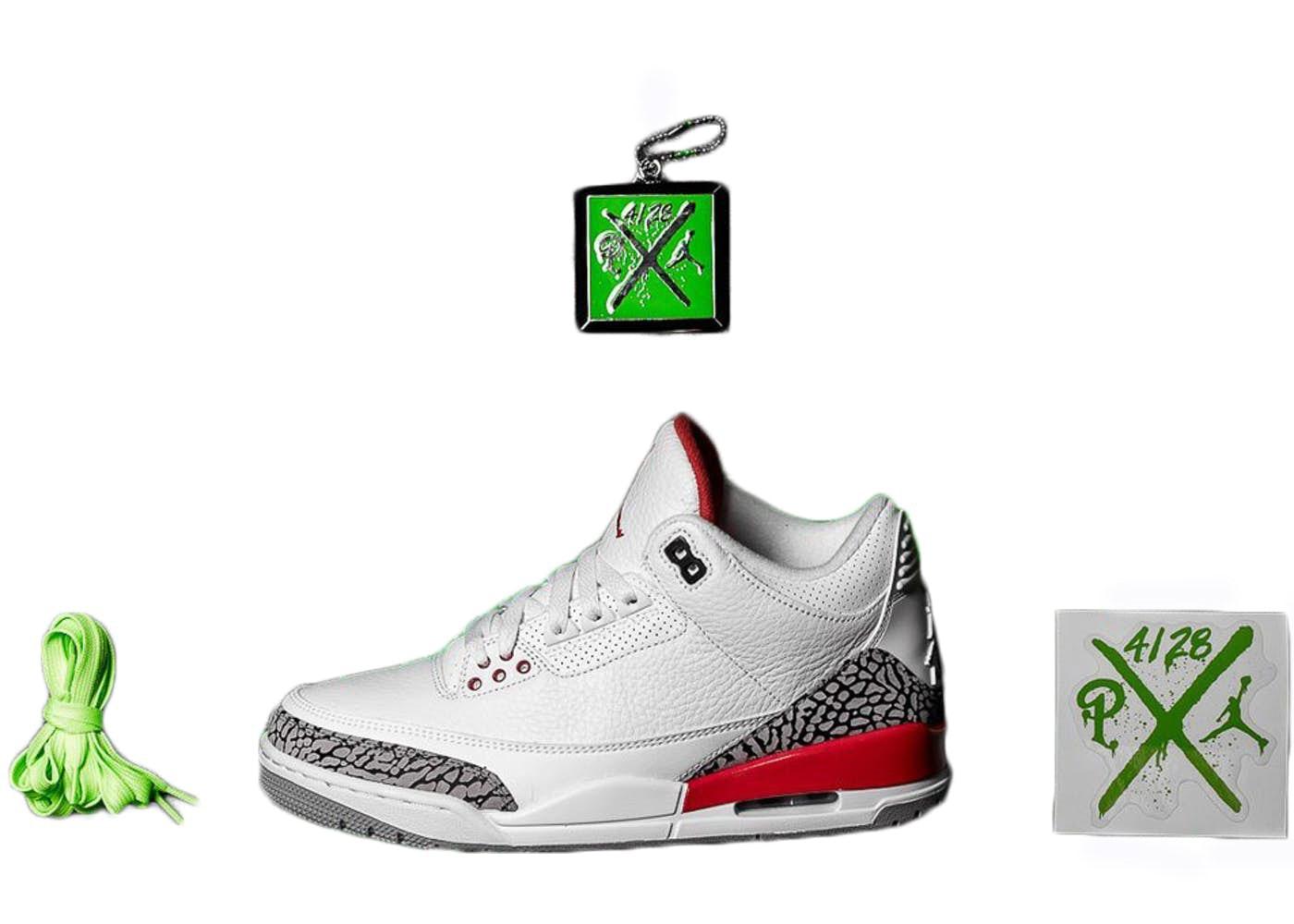 Jordan 3 Retro Hall of Fame (Sneaker Politics Special Release)