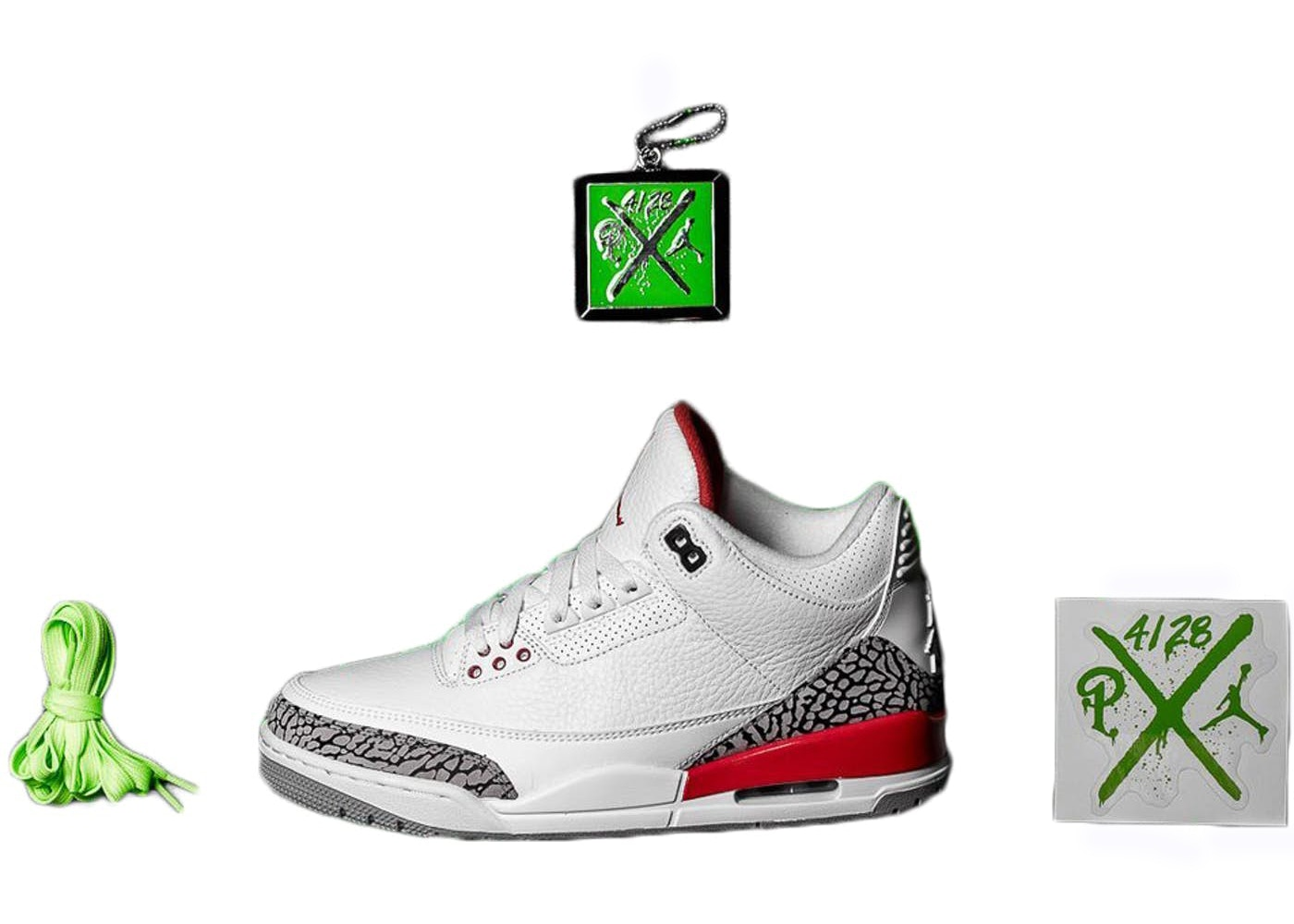 huge discount 856b6 86b26 Jordan 3 Retro Hall of Fame (Sneaker Politics Special Release)